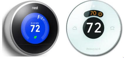 nest vs honeywell