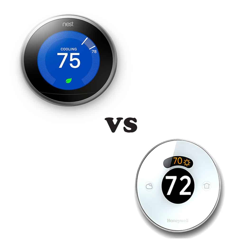 Nest vs honeywell lyric which smart thermostat is better for Th 450 termostato