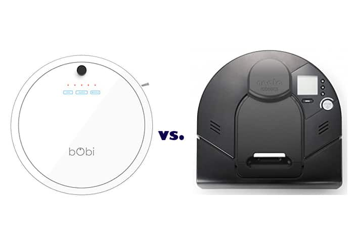 Bobsweep vs Neato _ The BObi vs Neato Signature Pro Comparison