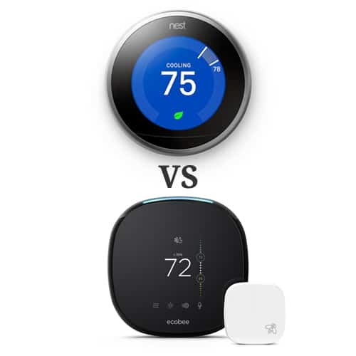 Ecobee vs Nest Smart Thermostat Comparison