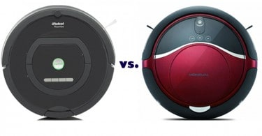 Moneual vs Roomba _Roomba 770 vs Moneual Rydis H68 Comparison