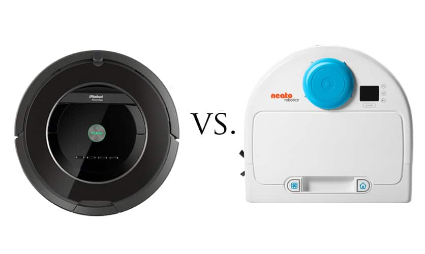 neato botvac 85 vs roomba 880 two of the best robotic. Black Bedroom Furniture Sets. Home Design Ideas