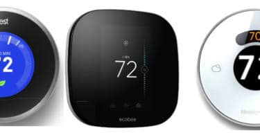 top smart thermostats