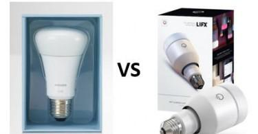 The Philips Hue vs LIFX Smart LEDs Compared