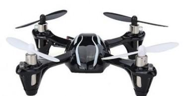 the Hubsan X4 quadcopter drone