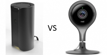Canary or Nest security camera device