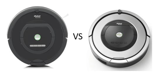 Comparing the Roomba 770 to the 860 - 860 vs 770