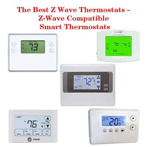 the best z wave thermostats z wave compatible smart. Black Bedroom Furniture Sets. Home Design Ideas