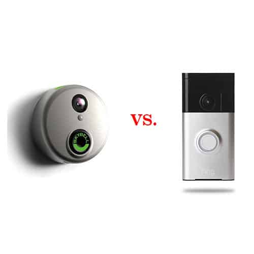 Comparing the Ring vs Skybell Smart Doorbells