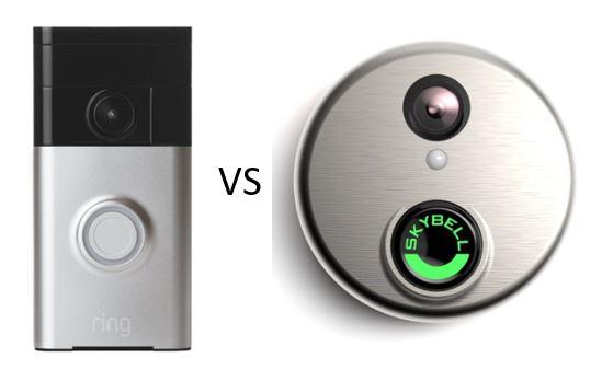 Comparing The Ring Vs Skybell Smart Doorbells All Home Robotics
