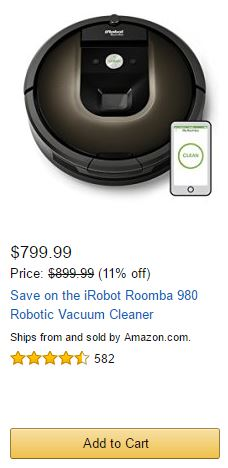 Best Roomba Deal Today!