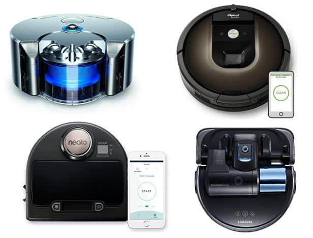 best robot vacuum cleaners for 2018 the top choices this year all home robotics. Black Bedroom Furniture Sets. Home Design Ideas