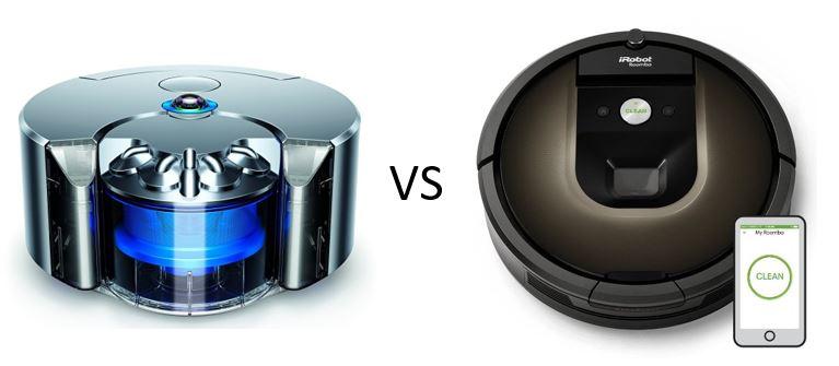 Dyson vs roomba дайсон dc 22