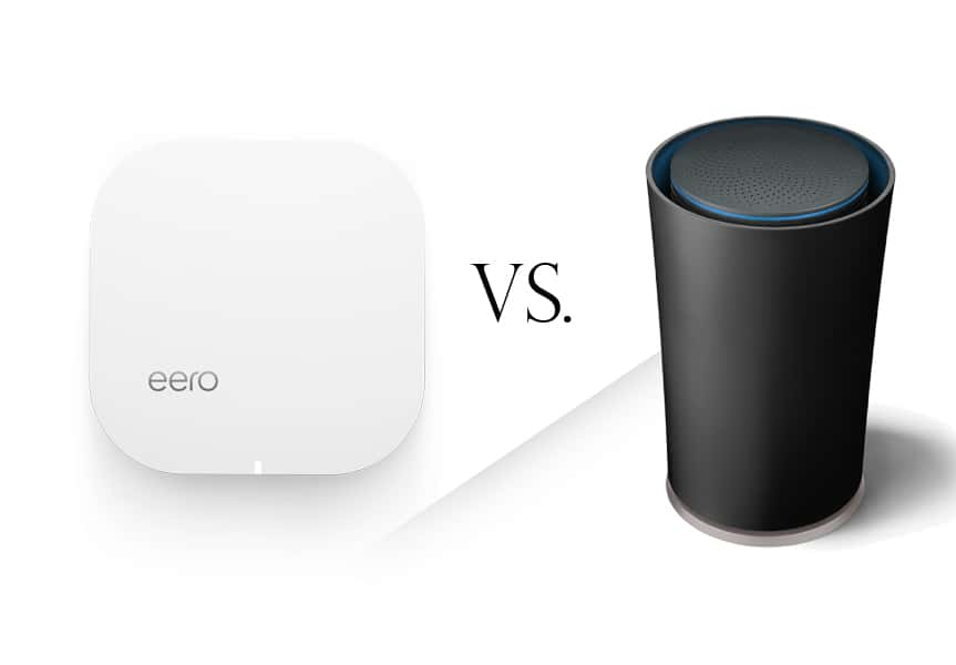 Eero vs. Google OnHub