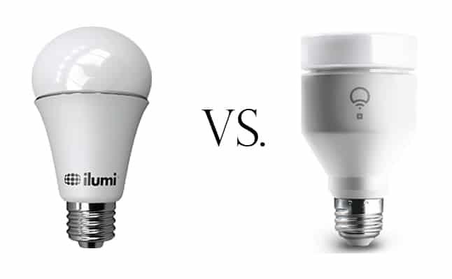 Ilumi A19 Bluetooth Smart LED Light Bulb vs. LIFX Plus