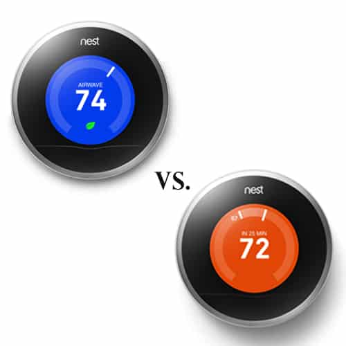 Nest Generation 1 vs Generation 2