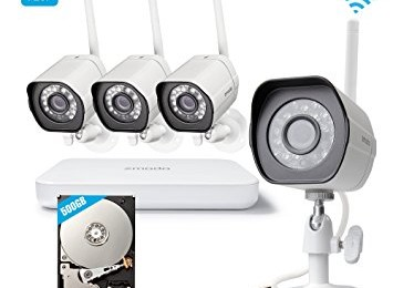 Zmodo Smart Wireless Home Security Camera System