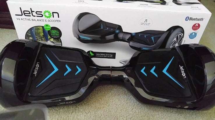 Get Out There The Comprehensive Jetson V6 Hoverboard Review All Home Robotics