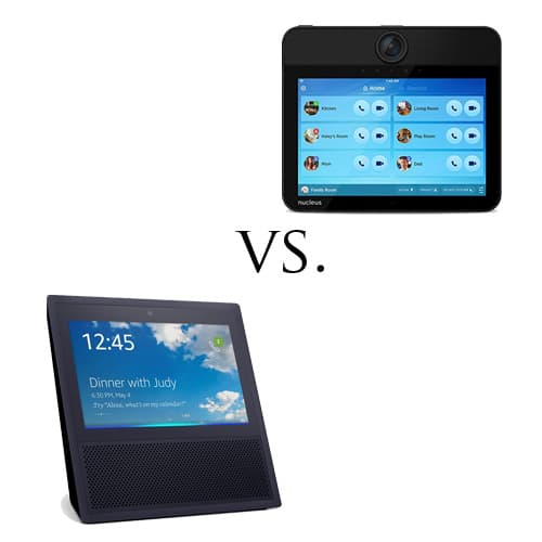 Nucleus Anywhere vs Amazon Echo Show