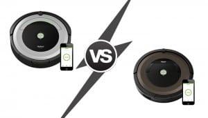 Roomba 960 vs. Roomba 890
