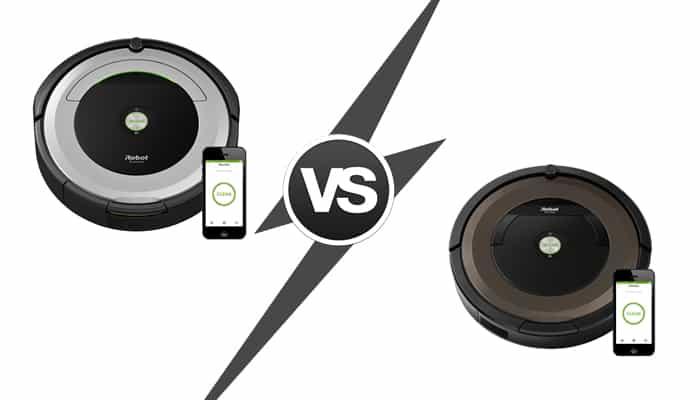 Roomba 690 vs. Roomba 890