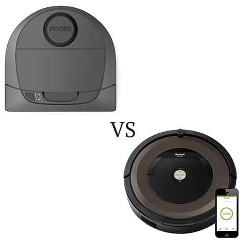 Neato Botvac D3 Connected vs. Roomba 890