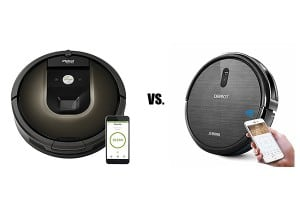 Ecovacs Deebot vs iRobot Roomba Brand Comparison