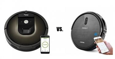 Ecovacs Deebot vs iRobot Roomba Brand Comparison