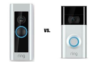 Ring Video Doorbell 2 vs Ring Video Doorbell Pro