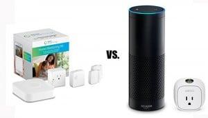 Wemo Home Automation vs SmartThings Hub