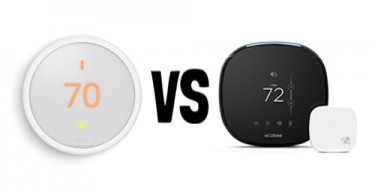 Nest Thermostat E vs. Ecobee4
