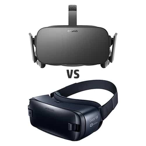 Samsung Gear VR vs. Oculus Rift