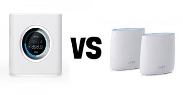 Netgear Orbi vs. Amplifi HD