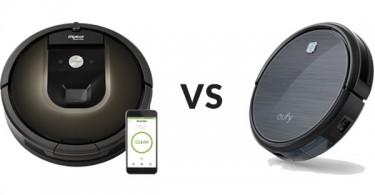 Roomba 980 vs Eufy RoboVac 11
