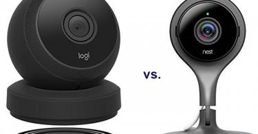 The Logi Circle 2 vs Nest Cam