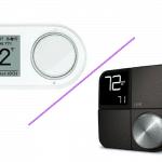 Lux Kono Smart Thermostat vs. Lux Geo Wi-Fi Thermostat