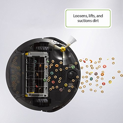 Roomba 675 View from Under