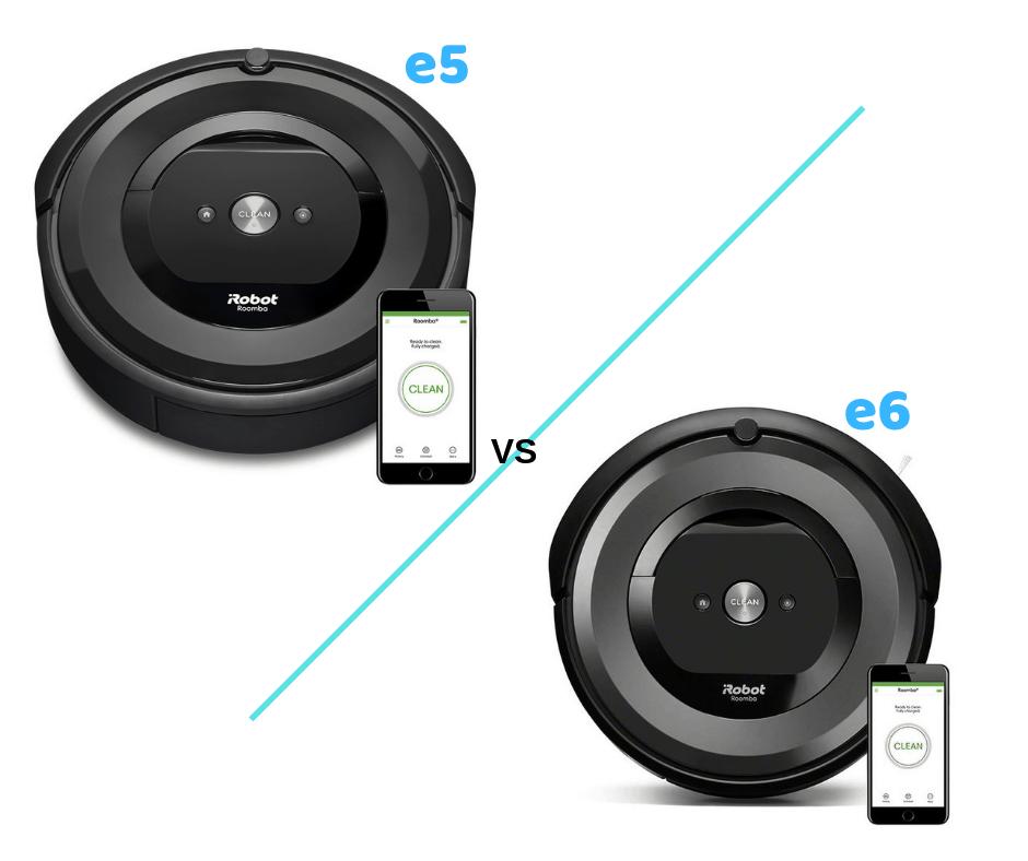 Roomba E5 Vs Roomba E6 2021 What S The Difference All Home Robotics