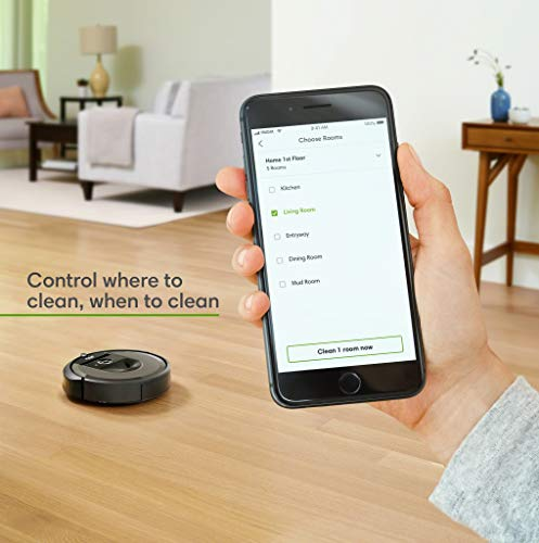 Controlling Roomba with Smarthphone