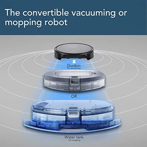 Ecovacs Deebot Mopping capabilities
